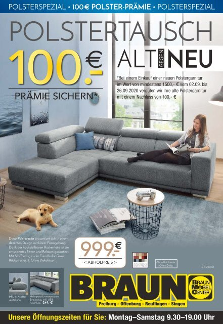 2020/37 - Möbel Braun ET: 10.09.2020