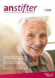 Anstifter 2, 2020 der Stiftung Liebenau Österreich