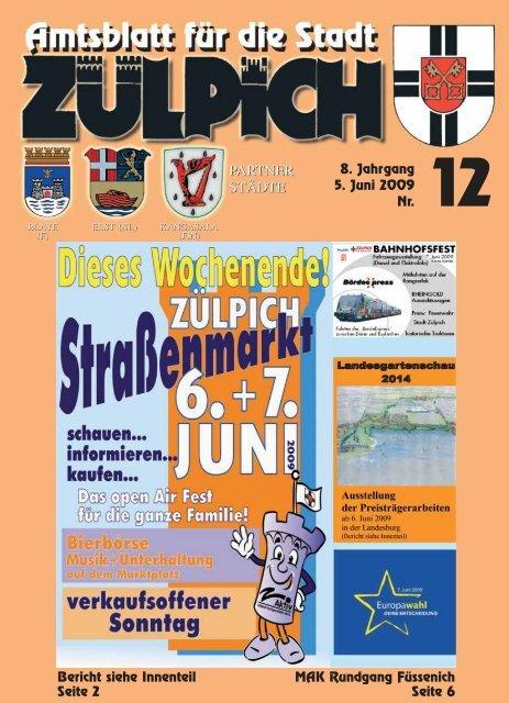 Amtsblatt1209.pdf - Stadt Zülpich