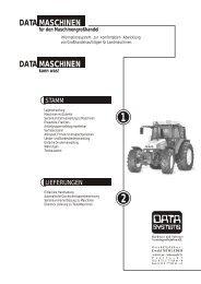 DATA DATA MASCHINEN MASCHINEN - DATA SYSTEMS