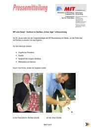 "Kochkurs im Gasthaus ""Grüner - BC&T, Business Consulting ..."