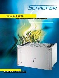 Series C / B 5700 - Schaefer Converters