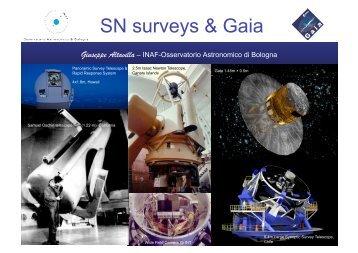 G. Altavilla - Gaia and the discovery of Supernovae - Osservatorio ...
