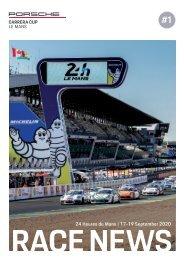 #1 RACE NEWS Le Mans 2020
