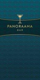 """Karte """"panoraama – die Rulantica Bar"""" EN"""