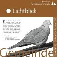 Sonntag 9. Dezember 15.30 Uhr - Evangelische Kirchengemeinde ...