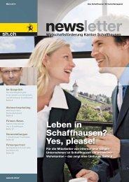 Ausgabe 1 - März 2011 (6.7 MB) - Wirtschaftsförderung Kanton ...