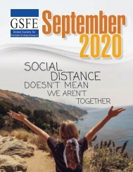 GSFE Newsletter-September 2020