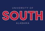 2020 University of South Alabama Viewbook