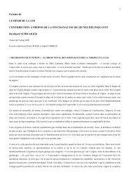 SCHWAIGER extraits - Association Psychanalyse Jacques Lacan
