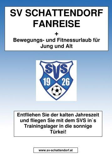 im Preis inkludiert - SV Schattendorf