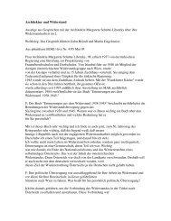 Architektur und Widerstand Auszüge aus Gesprächen mit der ...