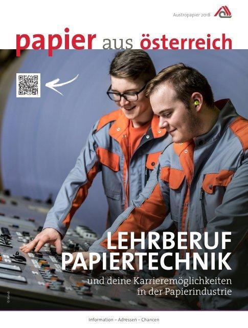 Lehrberuf Papiertechnik