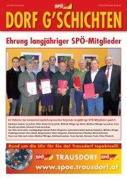 """Erstmals gemeinsame """"1. Mai"""" - bei der SPÖ Trausdorf"""