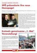 """Erstmals gemeinsame """"1. Mai"""" - bei der SPÖ Trausdorf - Seite 6"""