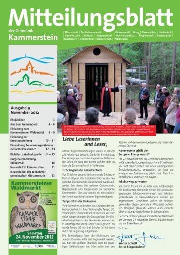 Gemeinde Kammerstein