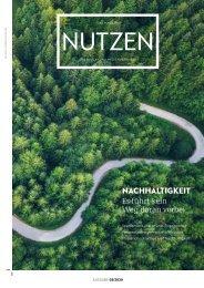 NUTZEN 03/2020: Nachhaltigkeit