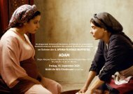 5. Afrika-Filmtage Wuppertal: ADAM
