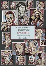 Sounding Out Semantics Excerpts