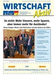 Wirtschaft Aktiv - Ausgabe 1/2011 - Burgenland