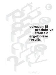 Europan 15: Produktive Städte 2