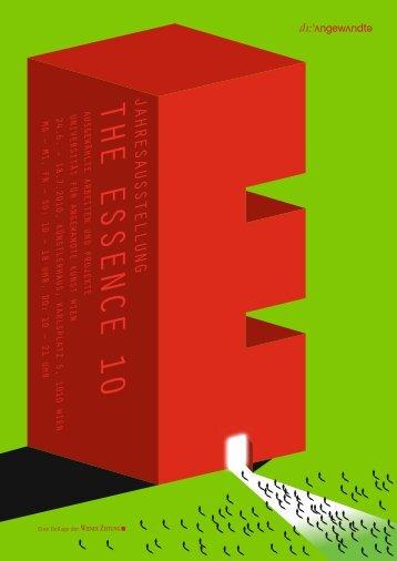 The Essence 2010 - Universität für angewandte Kunst Wien