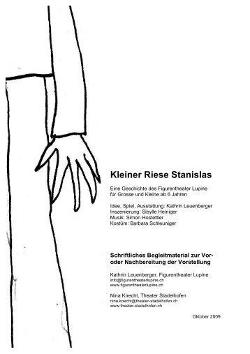 Kleiner Riese Stanislas - Theater Stadelhofen