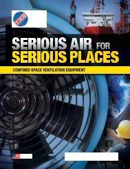 ConFined SpACe VenTilATion equipmenT - Schaefer Ventilation ...