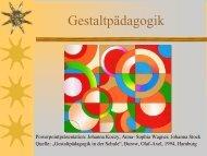 Was ist Gestaltpädagogik? - Baeuml-rossnagl.de