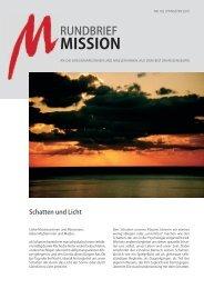 MISSION - Arbeitsstelle Weltkirche