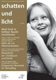 schatten und licht 4/2009 - eva