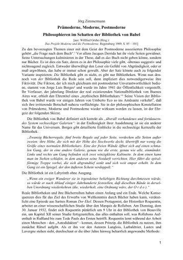 Jean Franãois Lyotard â Philosophie Und Postmoderne