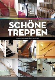 Flyer Schöne Treppen - Eberhard Bäthe, Treppenbau