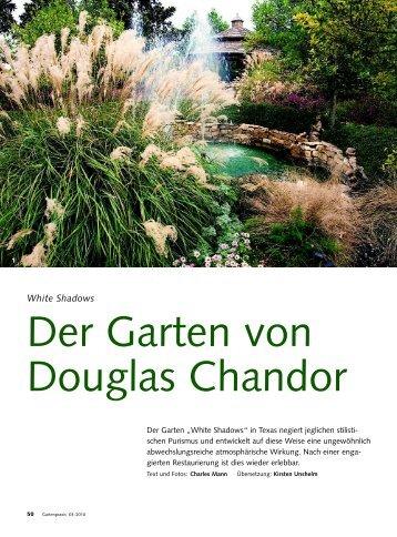 Der Garten von Douglas Chandor - Charles Mann Photography ...