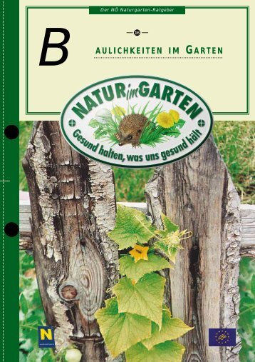aulichkeiten im garten b - Natur im Garten