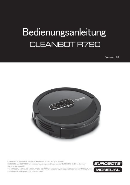 Cleanbot R790 - myRobotcenter