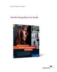 Porträts fotografieren im Studio (PDF) - Galileo Design