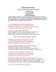 Sandhya Vandanam Procedure With Summary     - stotra ratna
