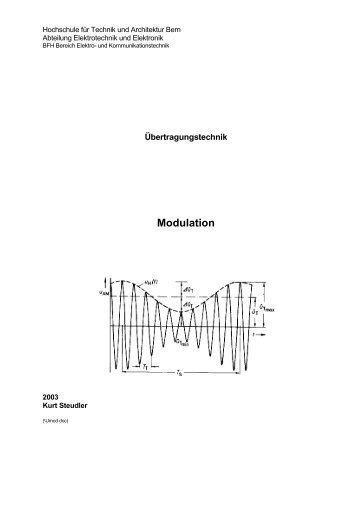 Modulation - steudler