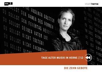 Gesangstexte - WDR 3