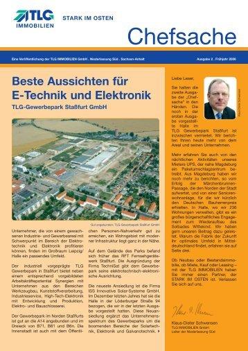 Chefsache-Gespräch mit Prof. Schenk - TLG Immobilien GmbH