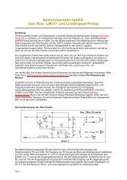 Spannungsregler spezial: Das 78xx-, LM317- und ... - HTL Wien 10