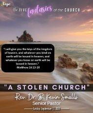 September 13, 2020 Bulletin - Fifteenth Sunday After Pentecost