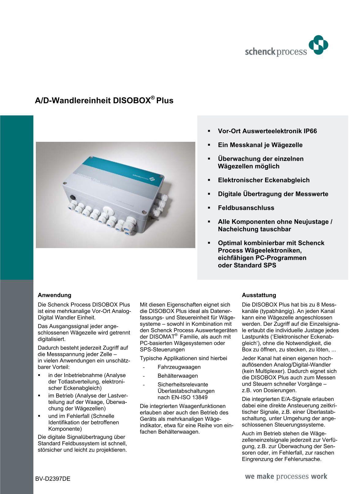 schenck intecont plus user manual pdf