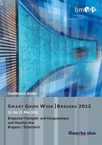 smart grids week - Energiesysteme der Zukunft