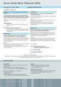 smart grids week - Energiesysteme der Zukunft - Seite 6