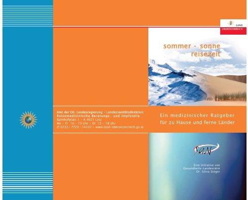 sommer • sonne reisezeit - Netzwerk Gesunde Gemeinde - Land ...