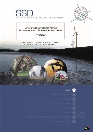 science for a sustainable development (ssd)