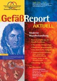 GefäßReport - Deutsche Gefäßliga eV