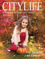 Citylife in Rugeley and Cannock Chase October 2020